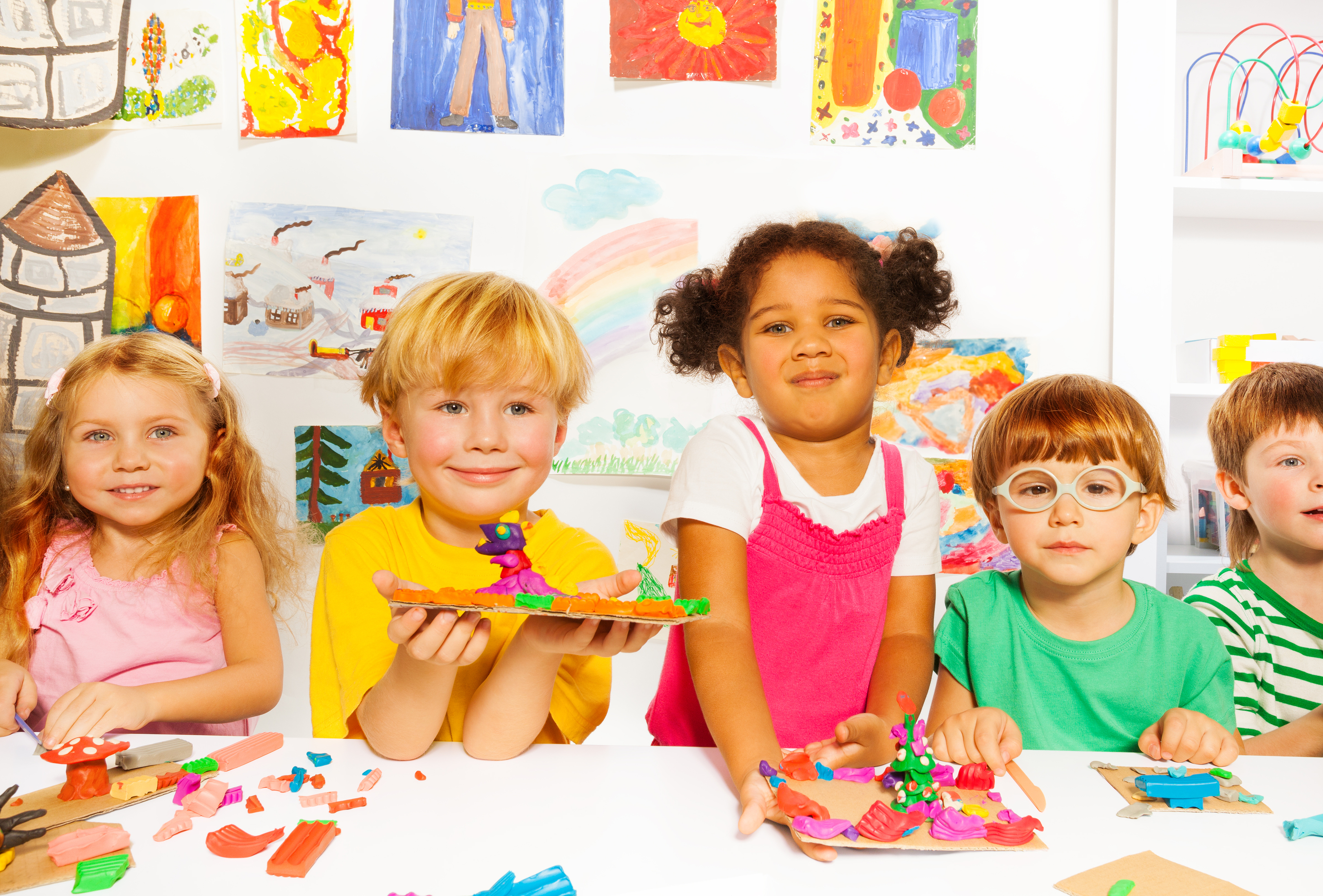 "play and learning for the preschool child In your house, ""play"" might be loud, messy and chaotic in a play-based preschool, however, the emphasis is always on learning — just in a very fun way."